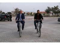 ASÜ ve Aksaray Belediyesi bisiklet konusunda işbirliği yapıyor