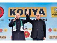 Konya'da 81 ile 100 bin konut projesi kapsamında 4 bin konut yapılacak