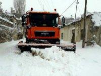 Selçuklu'da ekipler kış şartlarına hazır