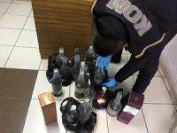 Aksaray'da kaçak içki operasyonu