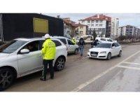 Kulu'da yılbaşı öncesi trafik denetimleri yoğunlaştı