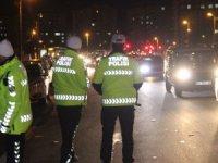 Konya'da yılın ilk trafik cezası alkollü sürücüye kesildi