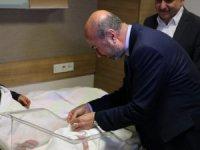 Konya'da 2020'nin ilk bebeği dünyaya geldi