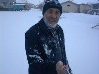Eskil'e yılın ilk karı yağdı