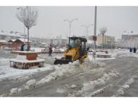 Ereğli Belediyesinden kar yağışına tedbir
