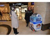 Selçuklu'dan Sıfır Atık Projesine Tekstil Atık Kumbarasıyla destek
