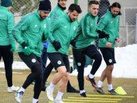Konyaspor, Galatasaray maçı hazırlıklarını sürdürdü