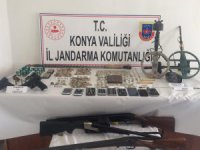 Konya ve Adana'da tarihi eser operasyonu: 11 gözaltı