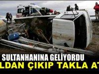 Aksaray-Konya yolunda kaza! 4 yaralı