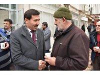 Başkan Hasan Kılca, vatandaşlarla buluştu