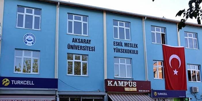 Aksaray Üniversitesi Daimi İşçi Alacak! Eskil'de de 2 Kişi Alınacak!