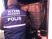 Aksaray'da kaçak akaryakıt operasyonu: 2 gözaltı