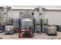 Konya'da 20 bin litre kaçak akaryakıt ele geçirildi