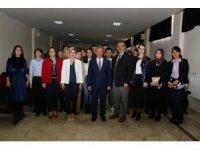 Başkan Akkaya geleceğin sağlıkçıları ile buluştu