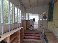 Eskil Belediyesi Dezenfekte Çalışmaları Yapıyor