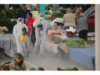 Akşehir Belediyesi dezenfeksiyon çalışmalarını sürdürüyor