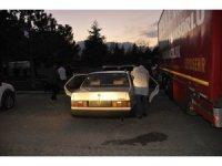 Konya'da çalınan otomobil terk edilmiş halde bulundu