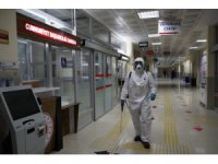 Karatay'da dezenfeksiyon çalışmaları sürüyor