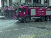 Eskil Belediyesi Dezenfekte Çalışmalarını Yürütüyor
