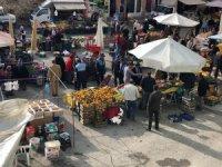 Hüyük'te halk pazarının kurulması iki hafta süreyle yasaklandı