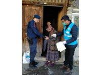 Derebucak'ta 284 ihtiyaç sahibi aile destekten yararlandı