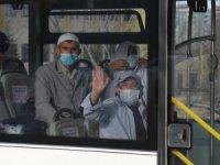 Umreden dönen 362 kişi Konya'da yurtlara yerleştirildi