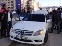 Aksaray'da dur İhtarına Uymayan Araç Polisi Alarma Geçirdi