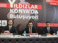 Konya'da Pınar Uluslararası Yıldız Erkekler Basketbol Turnuvası Başlıyor