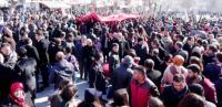 Aksaray'da MHP'liler Özgecan Aslan İçin Yürüdü