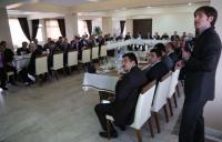 Aksaray'da ortak paylaşım ve genel değerlendirme toplantısı yapıldı