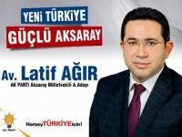 Ak Parti Aday adayı Latif Ağır'dan 18 Mart mesajı