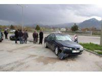 Seydişehir'de Trafik Kazası Ucuz Atlatıldı