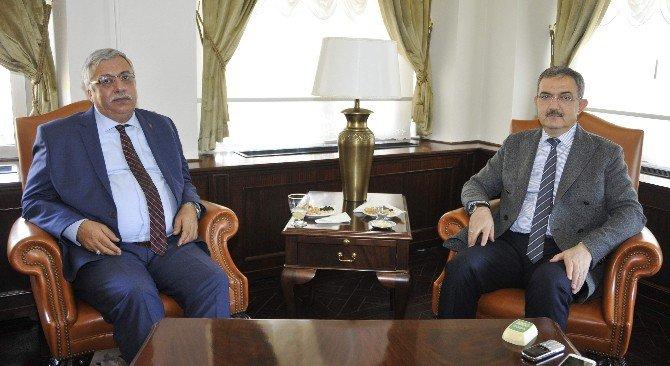 RTÜK Başkanı Yerlikaya'dan Rektör Şahin'e ziyaret