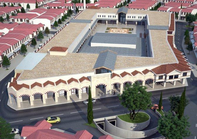 Tarihi Osmanlı Buğday Pazarı şehre değer katacak