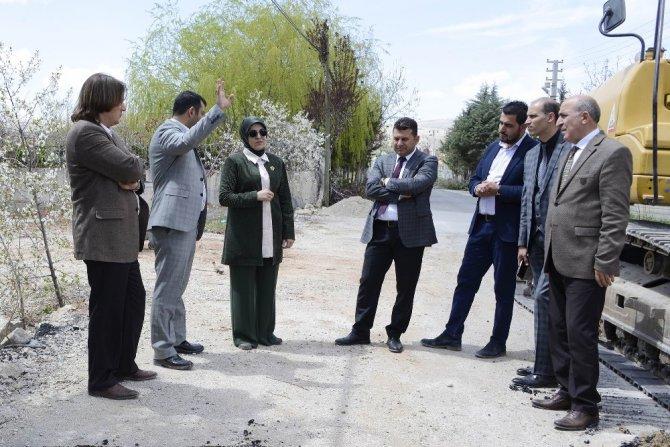 Meram'da 62 mahallede altyapı çalışması sürüyor