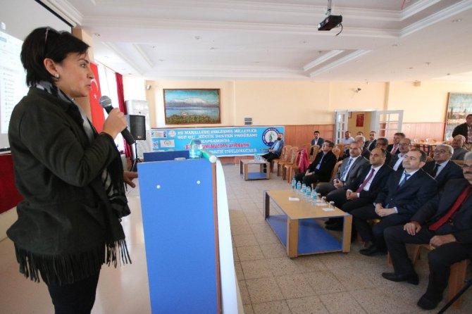"""Beyşehir'de """"Bizi tohumumuzdan ayırmayın"""" projesi tanıtıldı."""