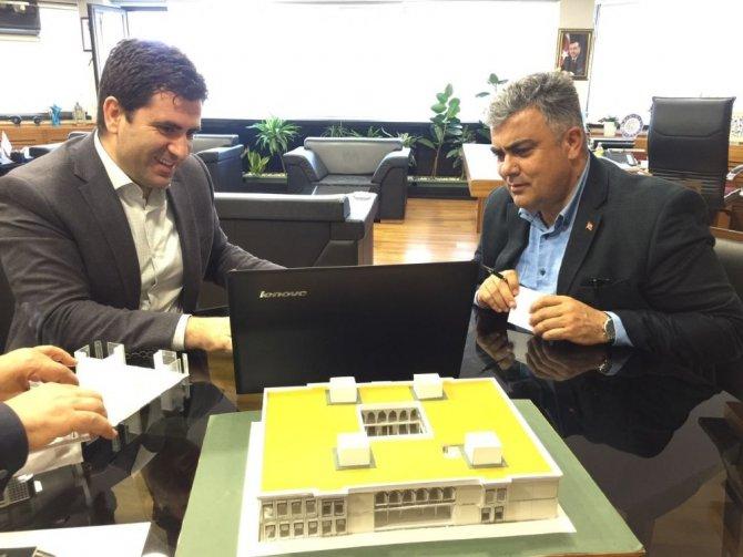 Başkan Özgüven'den Ereğli'ye yeni kütüphane müjdesi