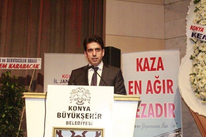 Konya'da, Karayolu Trafik Haftası kutlandı