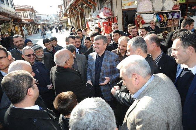 """Başkan Akyürek: """"Tarihe vefa boynumuzun borcudur"""""""