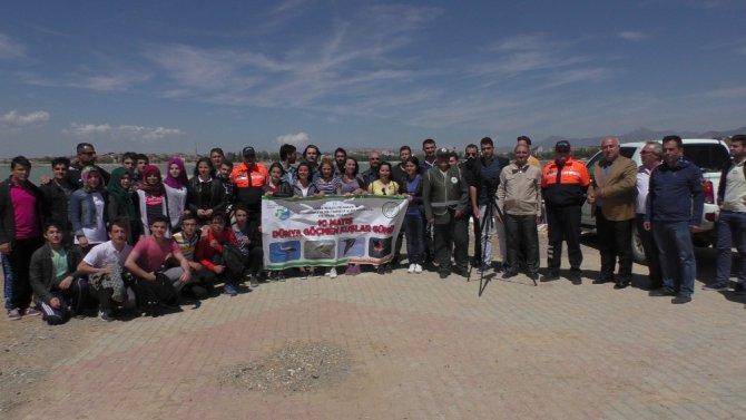Beyşehir'de 10 Mayıs Dünya Göçmen Kuşlar Günü kutlandı