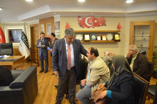 Başkan Özgüven, vatandaşlarla bir araya geldi