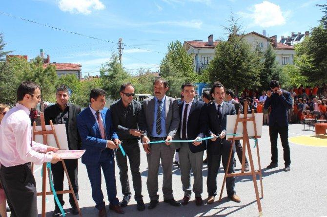 Özel öğrencilerin gözünden Beyşehir fotoğrafları sergisi