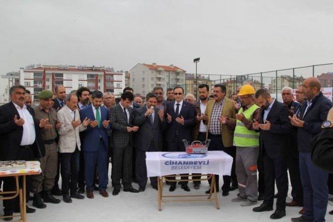 Cihanbeyli'ye modern kapalı pazar alanı