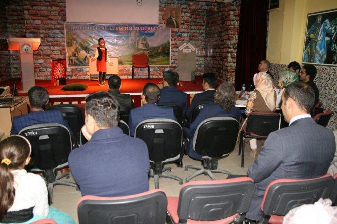 Kulu'da 'Bana Bir Masal Anlat Proje Yarışması' yapıldı