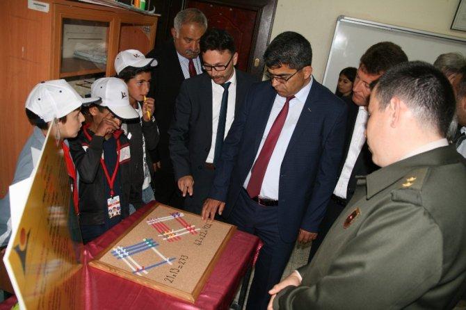Kulu'da TÜBİTAK Bilim Fuarı açıldı