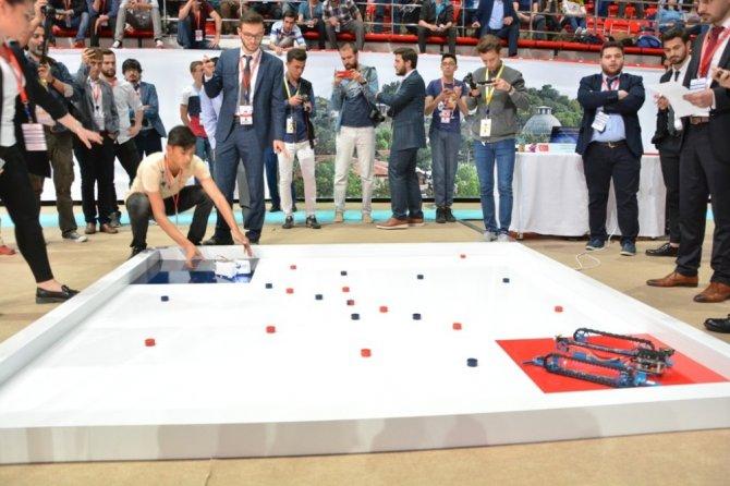 11. uluslararası robot yarışması sona erdi