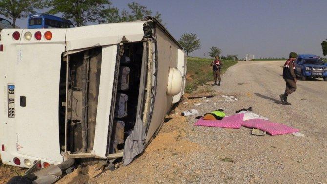 Konya'daki otobüs kazasında yaralı sayısı 38'e yükseldi