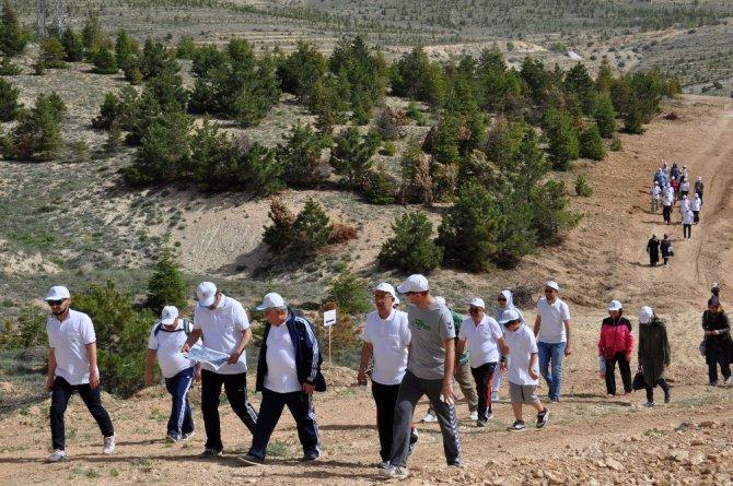 NEÜ Köyceğiz Kampüsünde doğa yürüyüşü yapıldı