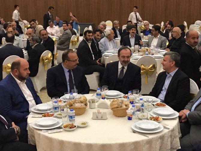 Diyanet İşleri Başkanı Mehmet Görmez Konya'da iş adamlarıyla buluştu