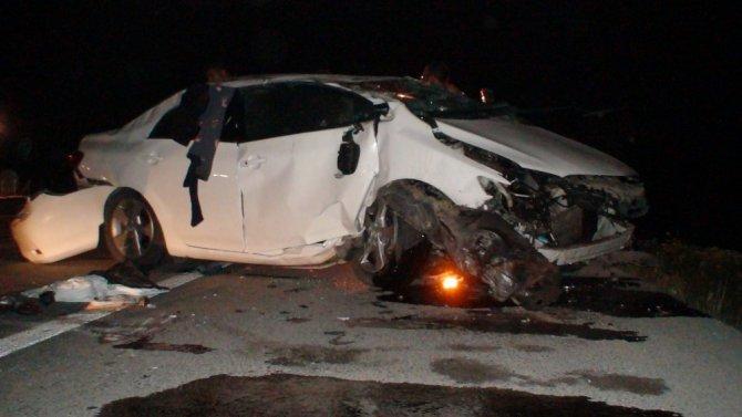Anne ile oğlu kazada hayatını kaybetti